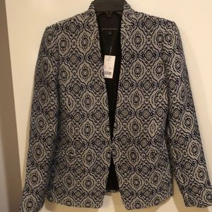Banana Republic brand new jacket sz4 blue black wh